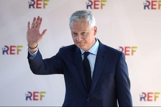 Bruno Le Maire mercredi à la Rencontre des entrepreneurs de France du Medef.