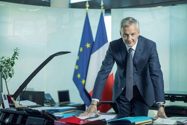 Bruno Le Maire, le ministre de l'Economie et des Finances, un possible successeur à Edouard Philippe à Matignon.