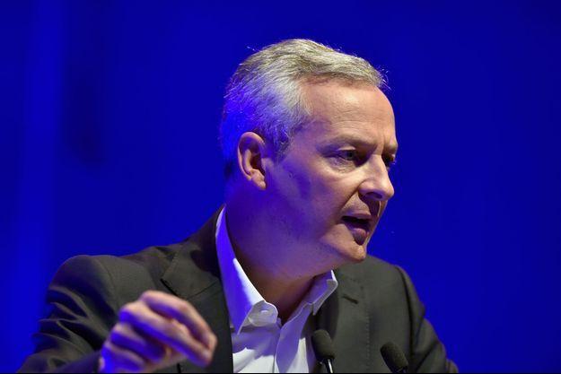 """Bruno Le Maire a déclaré qu'il n'avait """"pas de respect pour François Hollande""""."""
