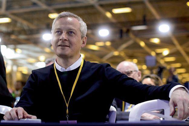 Bruno Le Maire, le 13 février au conseil national du parti Les Républicains, à Paris.