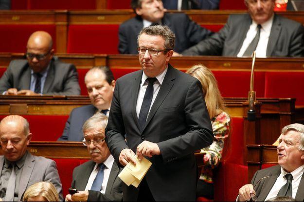 Christian Paul, l'un des chefs de file des députés socialistes frondeurs.