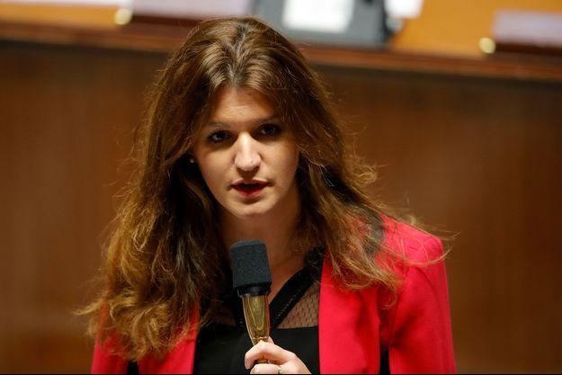 Marlène Schiappa en novembre 2018 à l'Assemblée nationale.