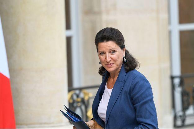 La ministre de la santé Agnès Buzyn, fin août à l'Elysée.