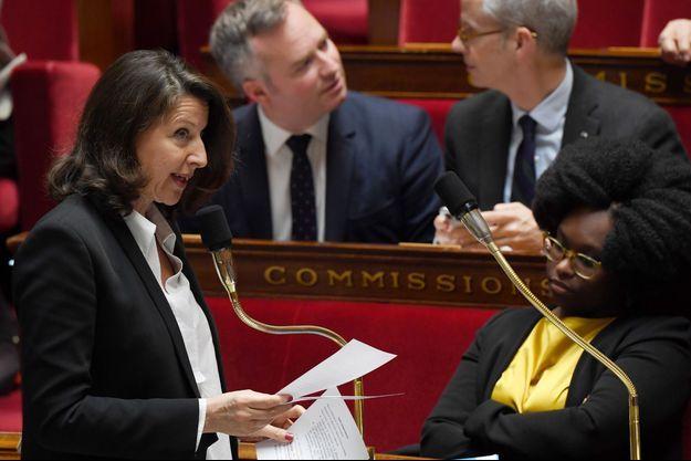 La ministre de la Santé Agnès Buzyn, mercredi à l'Assemblée nationale.