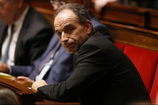Jean-François Copé à l'Assemblée nationale, le 26 janvier.