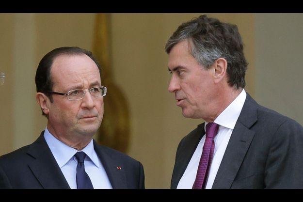 François Hollande et Jérôme Cahuzac