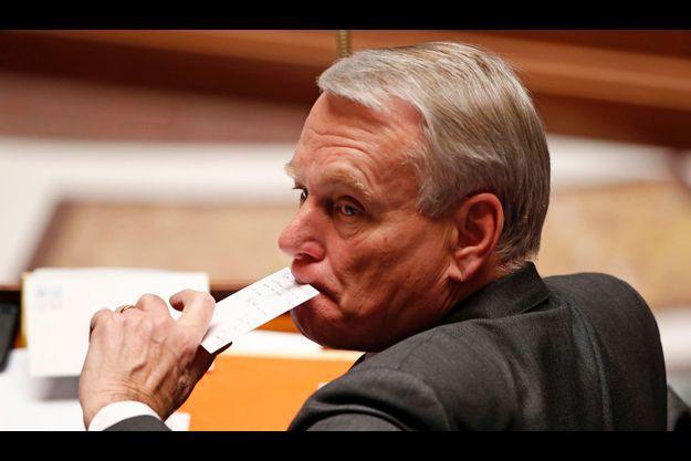 Jean-Marc Ayrault mardi à l'Assemblée nationale.