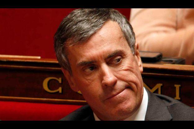 Jérôme Cahuzac à l'Assemblé nationale.