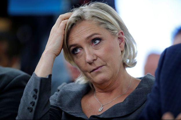 La présidente du Front National Marine Le Pen en novembre 2016.