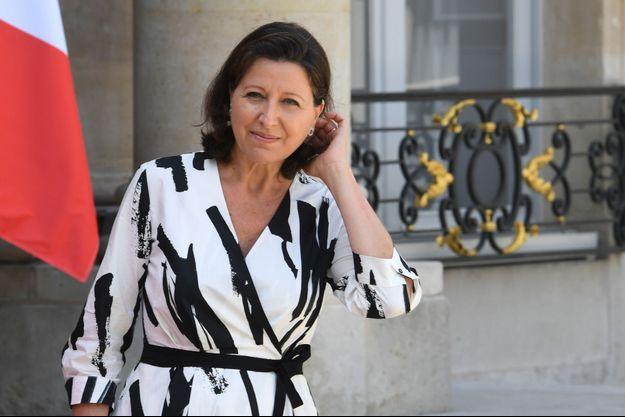 Agnès Buzyn lundi à l'Elysée.