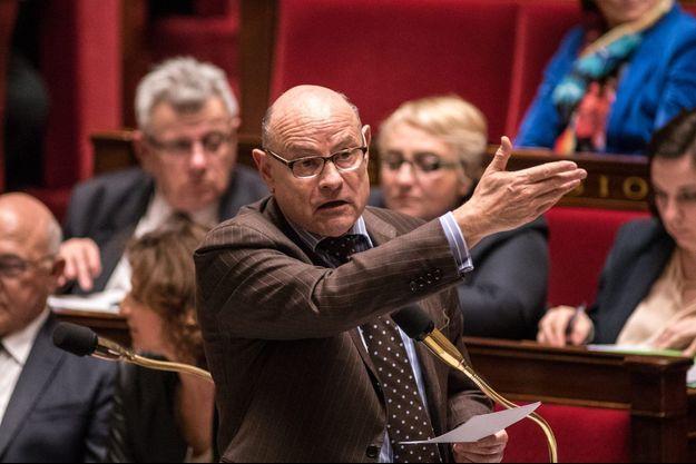 Jean-Marie Le Guen à l'Assemblée nationale le 7 avril.