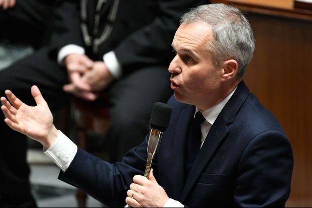 Le ministre de l'Ecologie François de Rugy, à l'Assemblée nationale mardi.