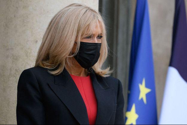 Brigitte Macron, ici le 8 octobre à l'Elysée.
