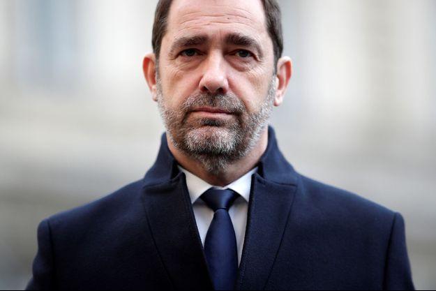 Christophe Castaner fin décembre à Paris.