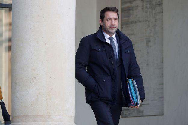 Christophe Castaner, ici fin janvier à l'Elysée.