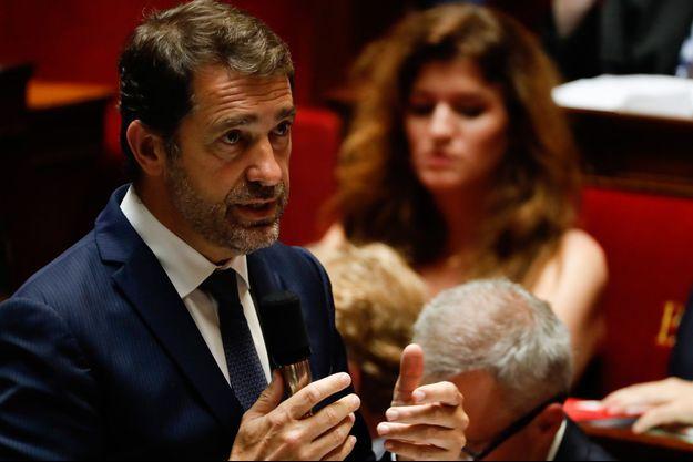Christophe Castaner mercredi lors des questions au gouvernement.