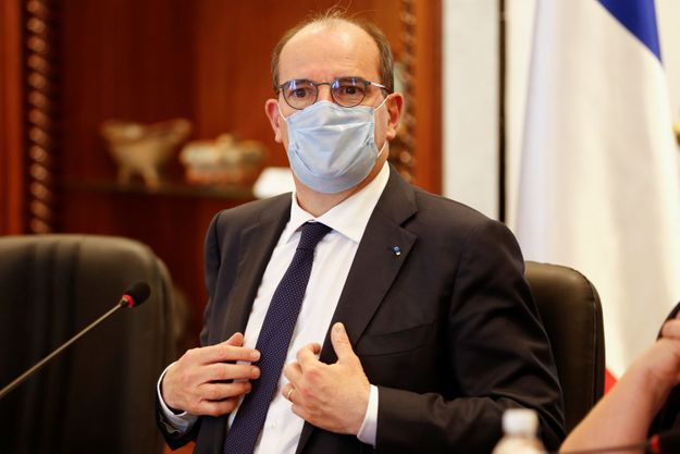Jean Castex à Tunis, le 3 juin 2021.