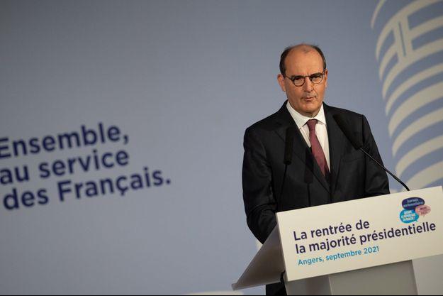 Jean Castex à Angers mardi lors des Journées Parlementaires de la Republique en Marche.