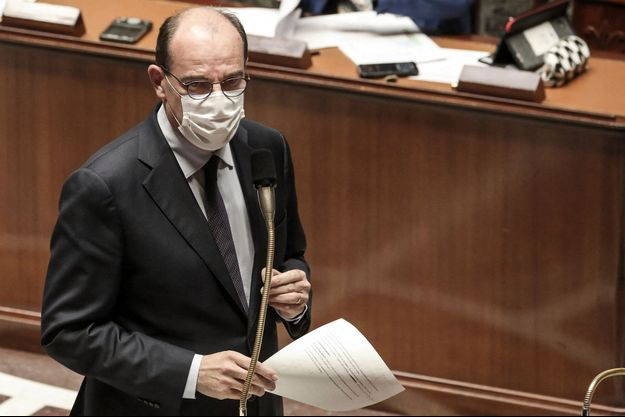 Jean Castex mardi à l'Assemblée nationale.