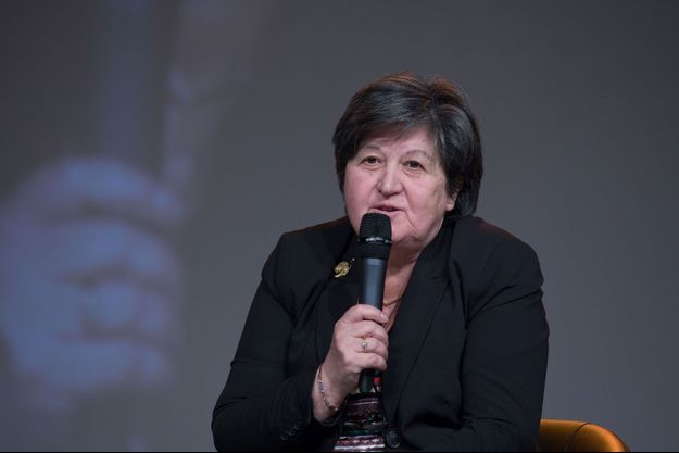 Catherine Barbaroux à Dijon le 13 janvier.
