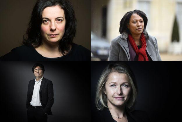 Emmanuelle Cosse, Hélène Geoffroy, Jean-Vincent Placé et Barbara Pompili