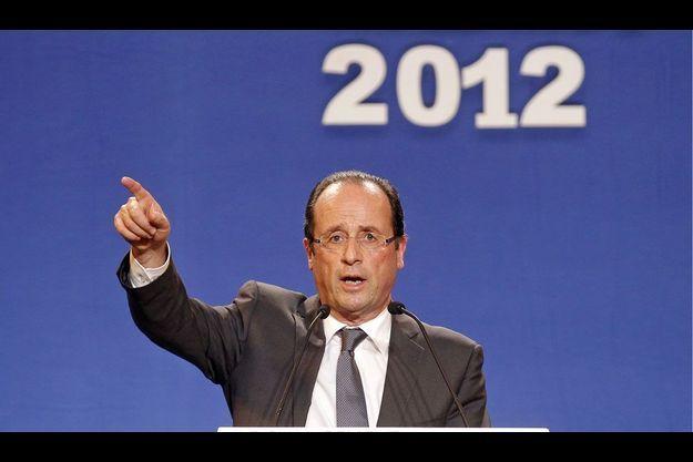 François Hollande lundi à Lorient.