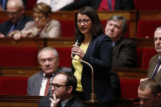 Cécile Duflot à l'Assemblée nationale le 26 janvier dernier.