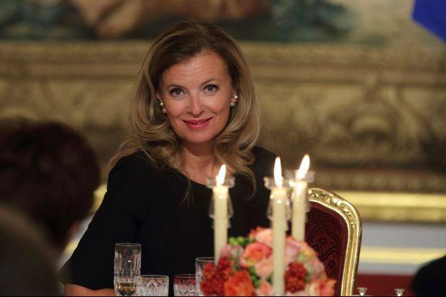 Valérie Trierweiler, à l'Elysée, en septembre 2013.