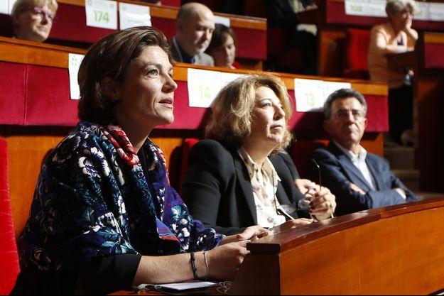 Chantal Jouanno en septembre 2013, lors de la conférence environnementale.