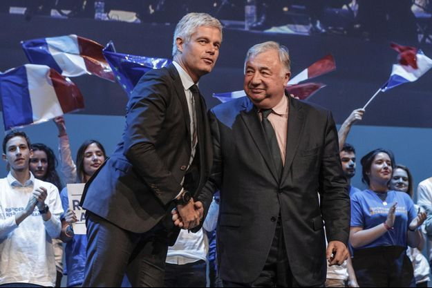 Laurent Wauquiez, Gerard Larcher