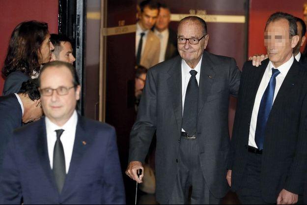 La dernière apparition officielle de Jacques Chirac en novembre 2014.