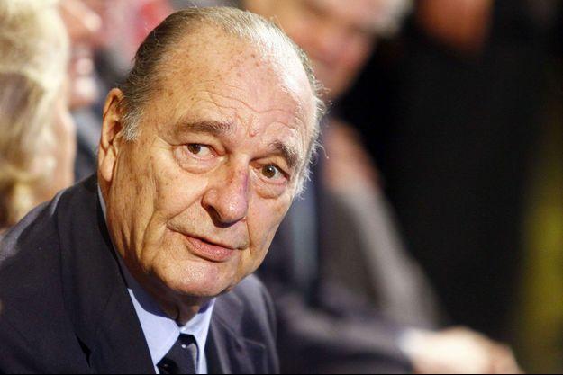 Jacques Chirac en 2011.