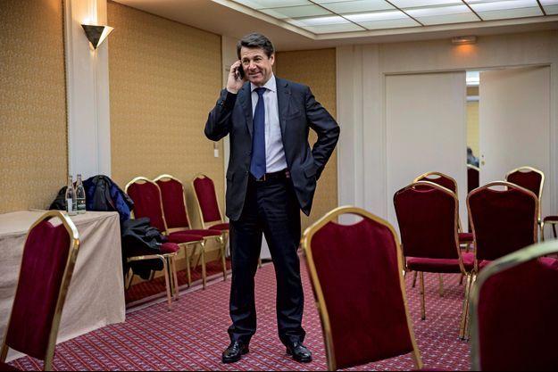 Christian Estrosi, le soir de sa victoire aux élections régionales.