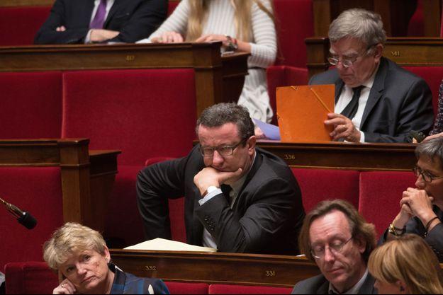 Christian Paul à l'Assemblée nationale mardi.