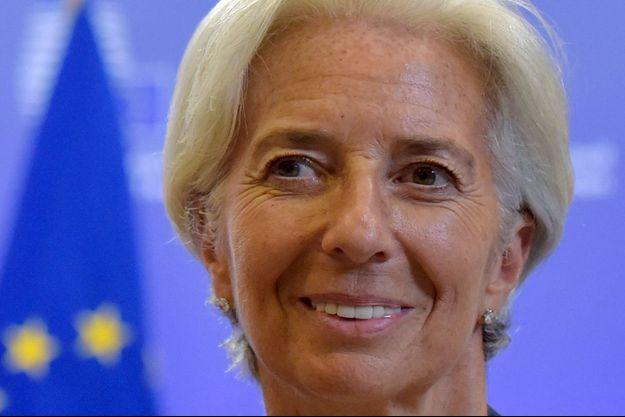 Christine Lagarde, à Bruxelles, juillet 2015.
