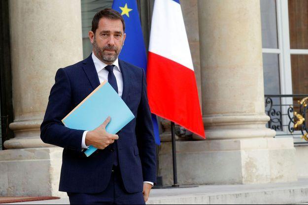 Christophe Castaner à l'Elysée le 18 octobre dernier.