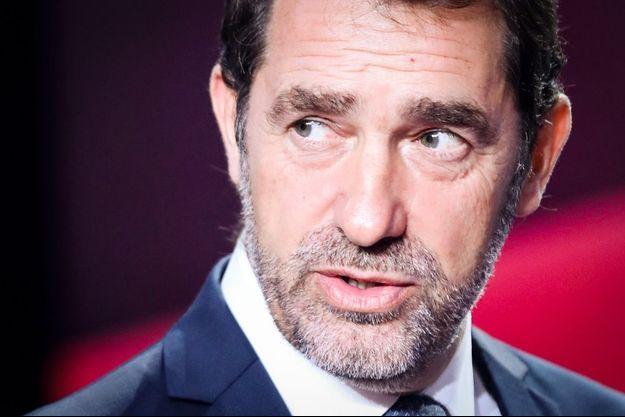 Christophe Castaner sur le plateau de France 2.