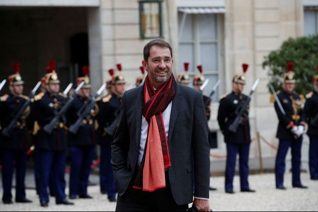 Christophe Castaner à l'Elysée le 14 mai.