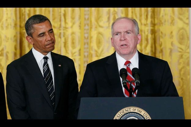 Barack Obama et John Brennan.