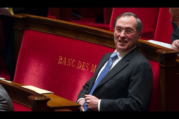 Claude Guéant à l'Assemblée nationale en février 2012.