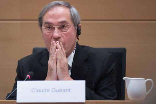 Claude Guéant le 3 mai 2017 à Bruxelles.