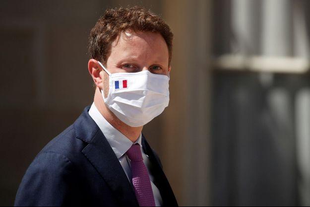 Le secrétaire d'Etat français chargé des Affaires européennes, Clément Beaune, en juillet dernier à l'Elysée.