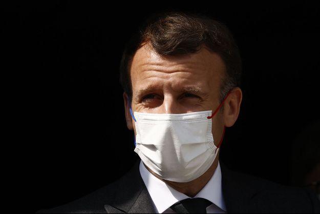 Emmanuel Macron le 14 avril 2021