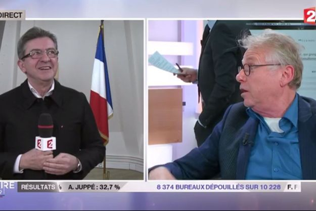 Daniel Cohn-Bendit et Jean-Luc Mélenchon se sont affrontés sur France 2 dimanche soir.