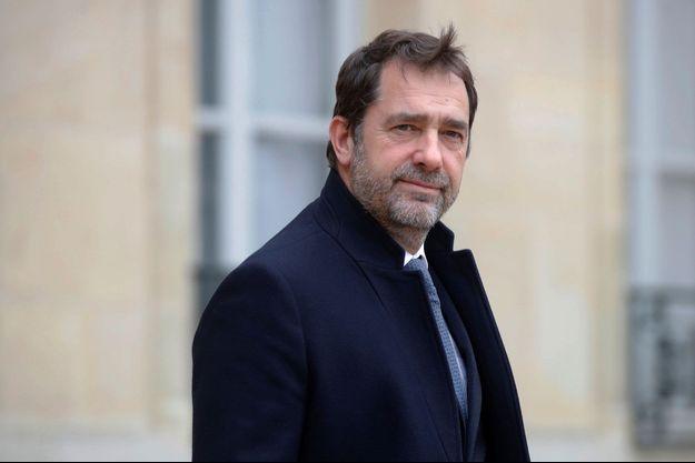 Christophe Castaner, début mars à l'Elysée.