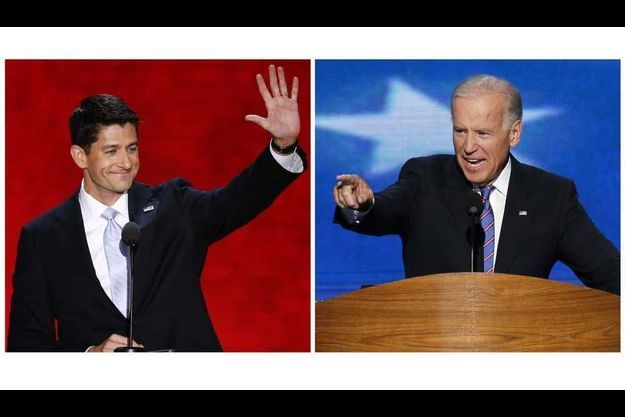 Paul Ryan et Joe Biden.