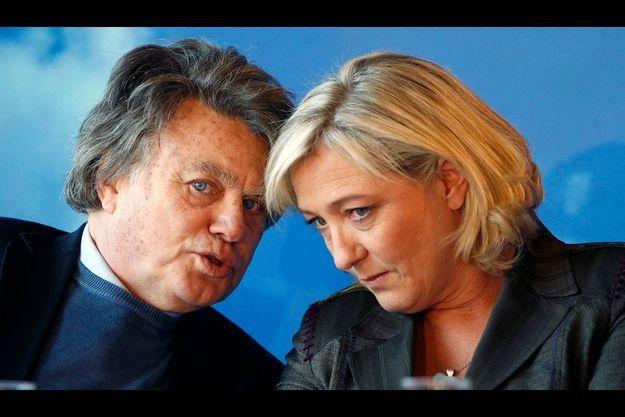 Gilbert Collard et Marine Le Pen
