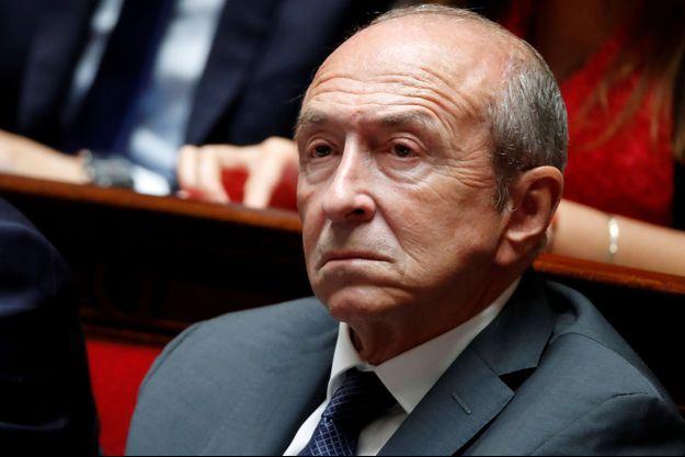 Gérard Collomb, ici à l'Assemblée nationale mi-septembre.
