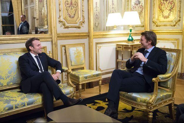 Emmanuel Macron reçoit mercredi à l'Elysée François Baroin, président de l'Association des maires de France.