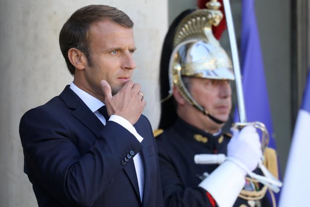 Emmanuel Macron, ici photographié à l'Elysée en septembre 2019.